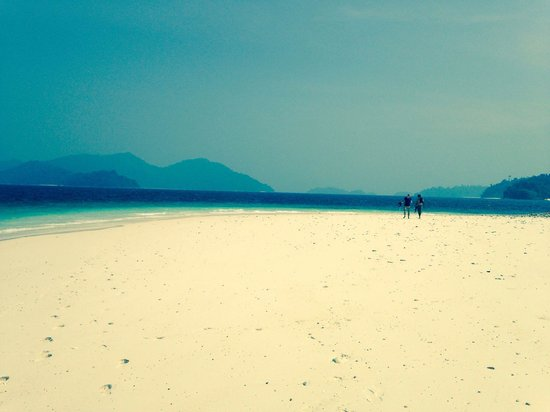 Mergui Archipelago: Paradise! And you are among the very few visiting these 800 islands. But they are sold now and w