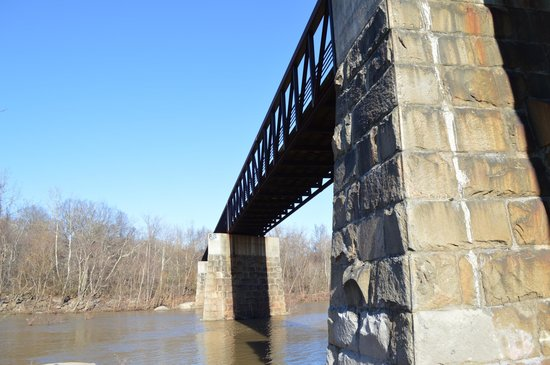 The Bridge over James River