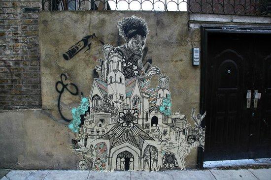 London Graffiti Tours: Swoon