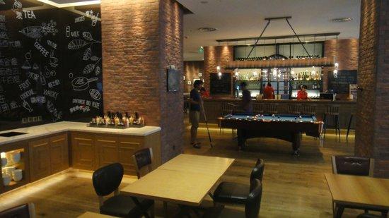 Pentahotel Shanghai : Lobby/bar