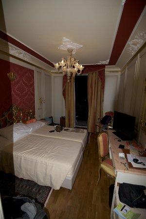 Regina Palace : Hotel Room -- Rear of Building