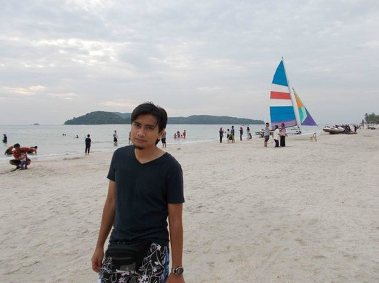 Cenang Beach: Me love the Beach..