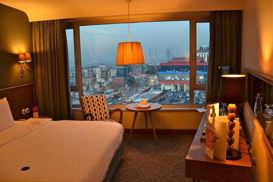 The Marmara Pera Hotel: View from the room - city side view