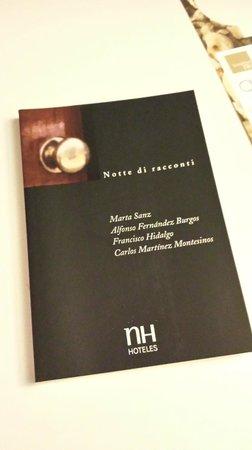 NH Palermo: libretto di racconti trovato in camera