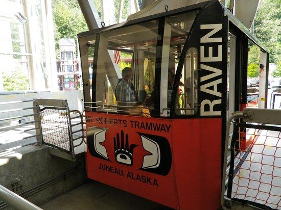 Goldbelt Mount Roberts Tramway: Mt. Roberts Tramway car