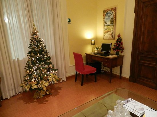 Rome Garden Hotel: salon