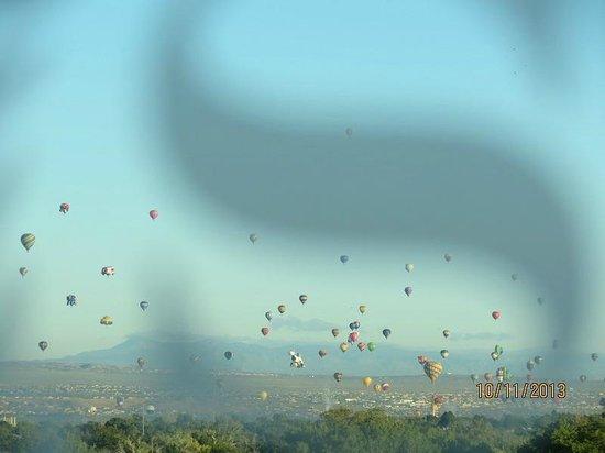 Sheraton Albuquerque Uptown: Balloon Launch 2013