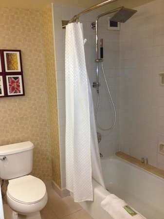 The Westin Los Angeles Airport : Decent Bathroom with Great Shower