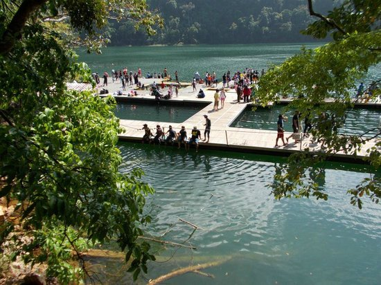 Lake of the Pregnant Maiden: Swimming platform 2