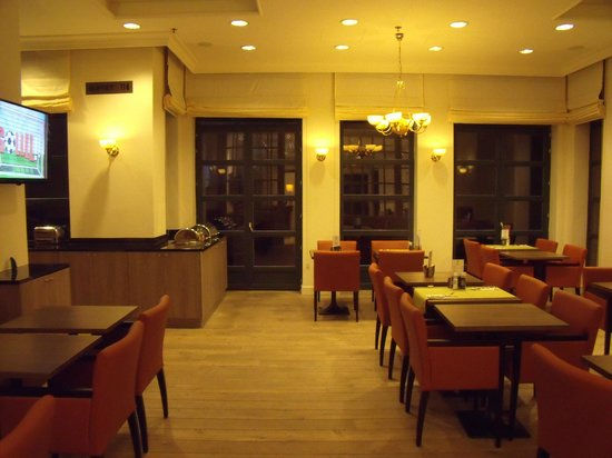 Holiday Inn Brussels Schuman : Breakfast room