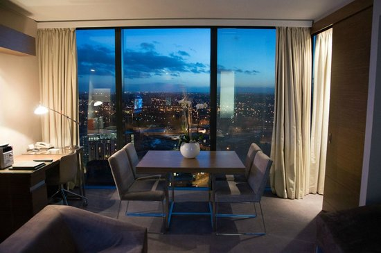 Views picture of hilton manchester deansgate manchester for Living room manchester