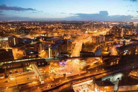 Hilton Manchester Deansgate: Views