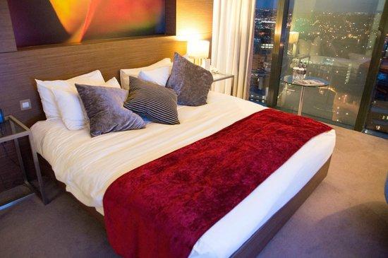 Hilton Manchester Deansgate: Bedroom