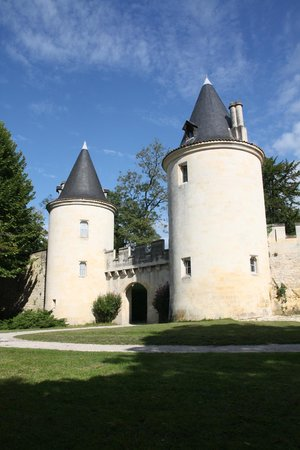 Chateau de Mirambeau: From The Side of the estate