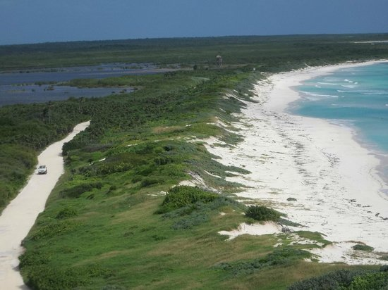 El Cozumeleno Beach Resort: This is actually a view from Punta Sur Lighthouse.
