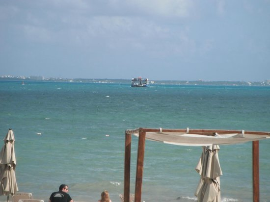Villa del Palmar Cancun Beach Resort & Spa : ferry vers Isla mujares