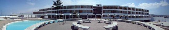 Ilo, Peru: Hotel y piscina