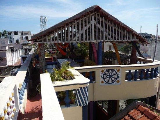 Swades Guest House: La 2ème terrasse