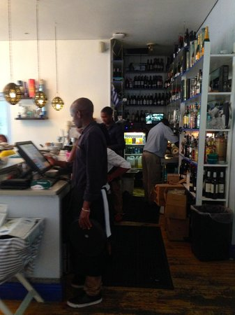Spiro's: Bar / kitchen