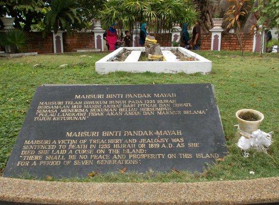 Mahsuri's Tomb: Mahsuri Tomb's