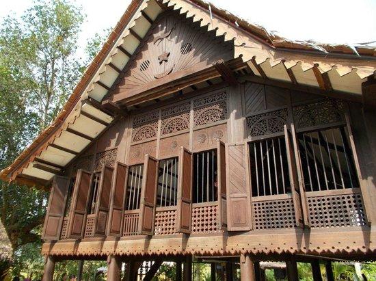 Mahsuri's Tomb: Malay Traditional House