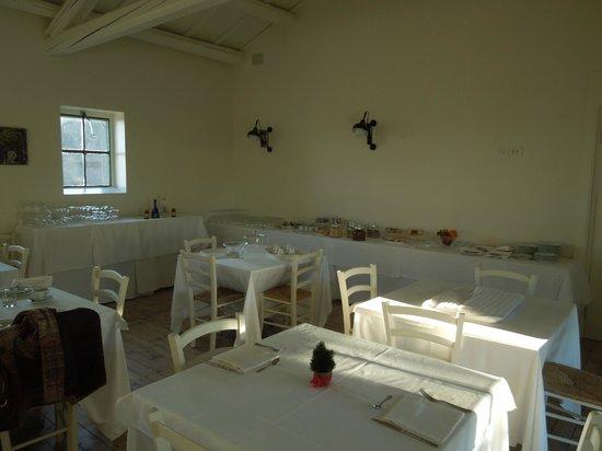 La Chiave Bianca: Sala colazione