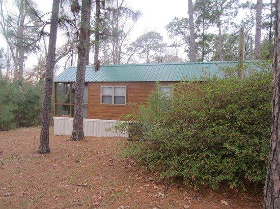 Bon Sam Houston Jones State Park: Cabin