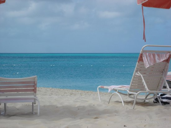 Ocean Club Resort : Beach view at Ocean Club TCI