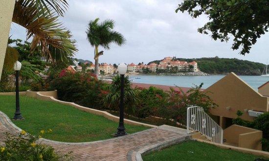 Divi Little Bay Beach Resort : Little Bay from accommodation