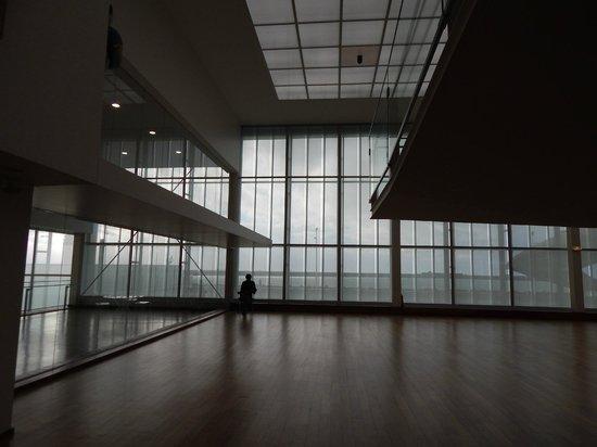 MuMa Musée d'art moderne André Malraux : a spectacular interior even when it rains