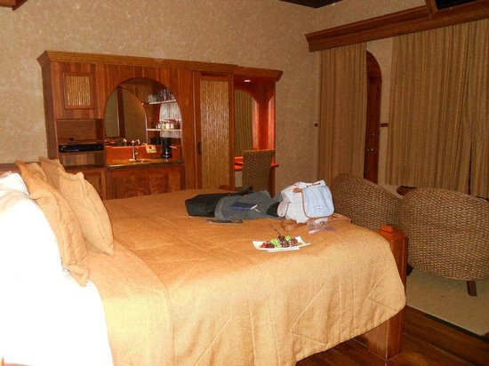 The Springs Resort and Spa : Our bedroom- honeymoon suite