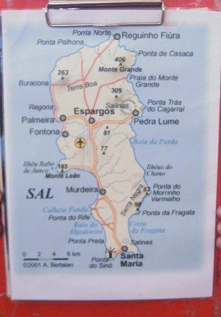 Annes Info Point: die Insel
