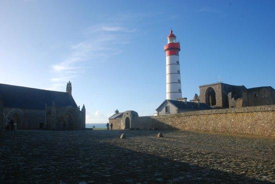 Pointe Saint Mathieu: vue d'ensemble