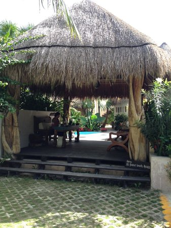 Encantada Tulum: Check in