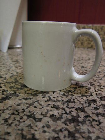 Residence Inn Toledo Maumee : dirty cup