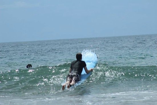 Point Break Surf School: Over the big waves!