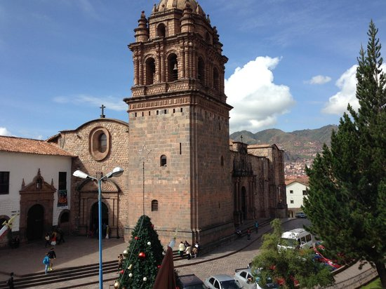 Palacio del Inka, A Luxury Collection Hotel, Cusco: View of Q'oricancha from our room!