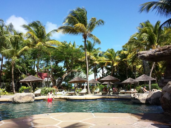 Galley Bay Resort : The pool area