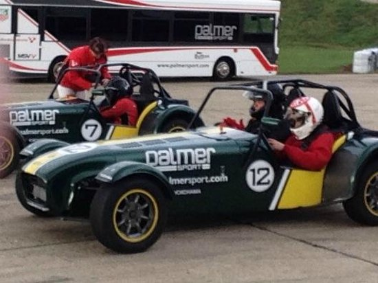 PalmerSport: Ready for sideways fun in the Caterham 7s