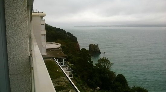The Imperial Torquay: Nice view despite the poor  weather
