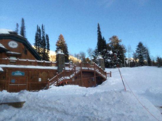 Grand Targhee Resort: View from Window