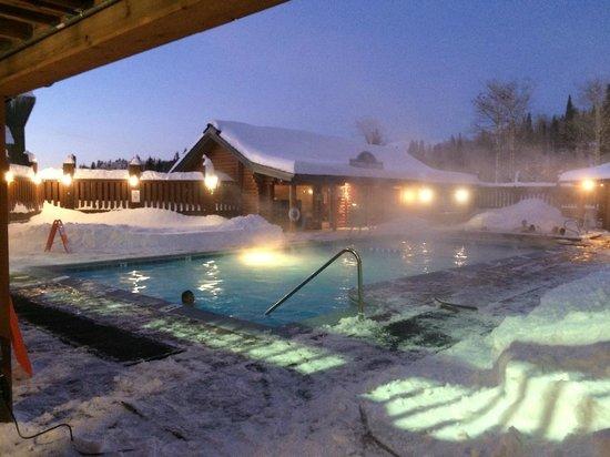 Grand Targhee Resort : Hot Tub Pool
