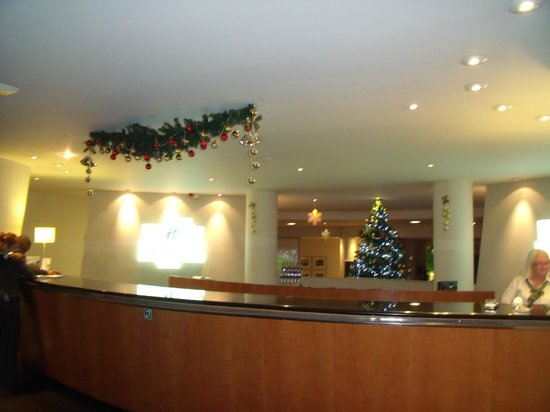 Holiday Inn Edinburgh : Reception