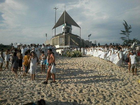 Barra Beach: Todo um ritual de fé e Amor.