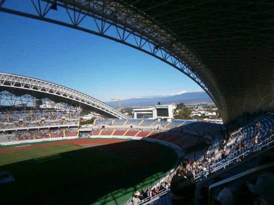 Estadio Nacional: Es una joya que impone respeto y silencio por el talento que Dios ha dado a los seres humanos...