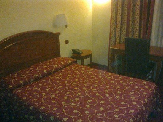 Hotel Carlton : letto alla francese