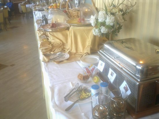 Hotel Carlton : Buffet della colazione