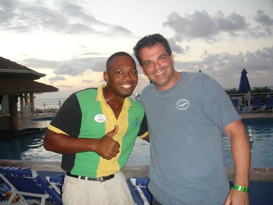Sunscape Splash Montego Bay : Ken the man!