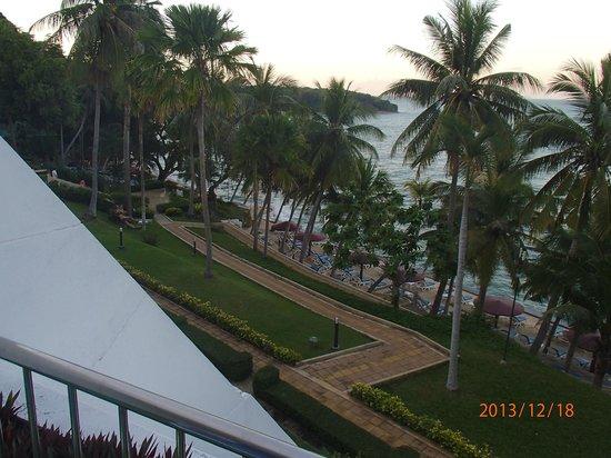 Royal Cliff Beach Hotel : Utsikt fra rommet