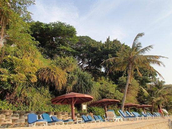 Royal Cliff Beach Hotel : Strandområdet